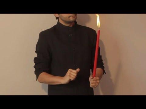 تعلم العاب الخفة # 464 تعرف على الشمعة التي تختفي magic trick revealed