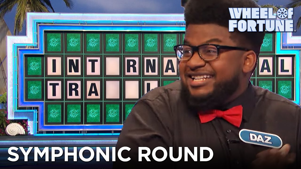 Daz Has a Symphonic Round!   Wheel of Fortune