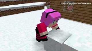 Диллерон и Миникотик: Малыш Эндермен (Minecraft Мультики)