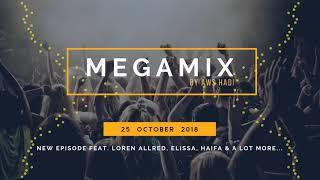 MegaMix October 2018  |  (Western + Oriental) Mashup - EDM Deep House Music ريميكس