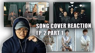 REACTION to A.C.E (에이스) SONG COVER 'Empty Space' 'Love Poem' & 'Easier' | Zyan NZ