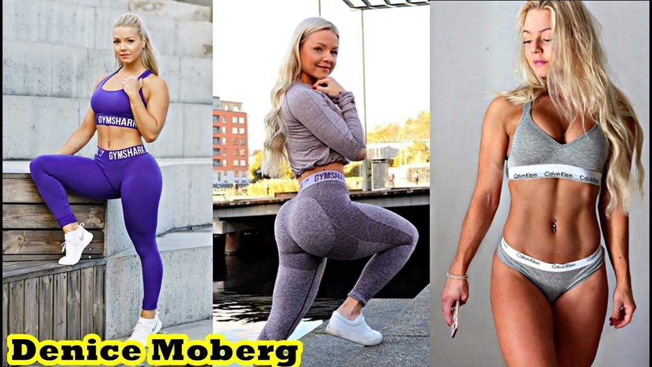 Tell sexy yoga babe workout