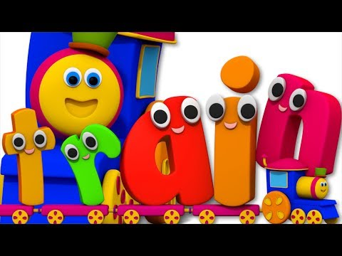 Two Vowel Song | Learning Street With Bob The Train | Word Play | Learning Video by Kids Tv