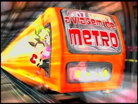 Chaves Em Desenho Animado Ep. 100 - A Viagem De Metrô