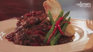 Chicken Chasseur With Boursin Mashed Potatoes And Green Beans  - Dinner Boot Camp - Episode 2