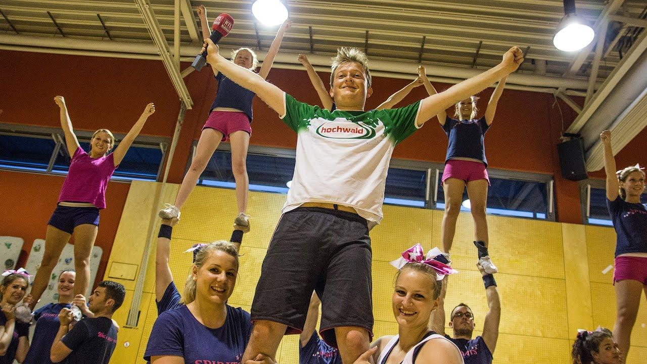 Kandidat #2 Cheerleading - YouTube