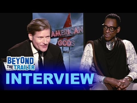 American Gods Interview - Crispin Glover as Mr World & Orlando Jones as Mr Nancy