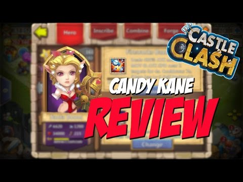 Castle Clash Candy Kane (Skill/ability, Thoughts, Review)
