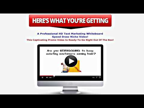 WSO Text Marketing Whiteboard Niche Videos Review - Whiteboard Lead Gen Videos to Get NEW Clients