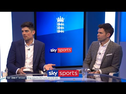 Anderson & Cook on retirement, how to drop a player and the difference between batsmen & bowlers!