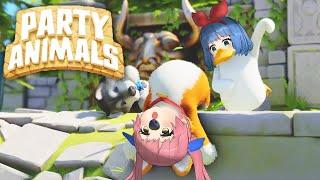 フニャフニャすぎる動物バトル「Party Animals」がおもしろすぎるwww
