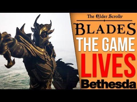 Finally Some News On Bethesda's Next Game - The Elder Scrolls: Blades BETA