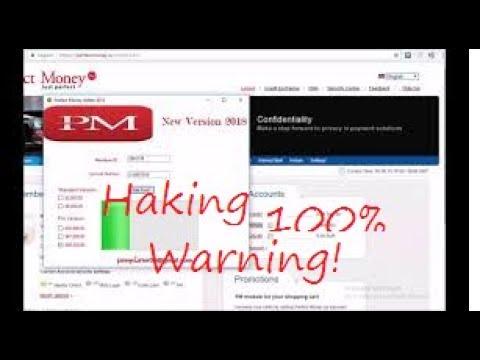 Perfect Money Acount Hack Warning Haking