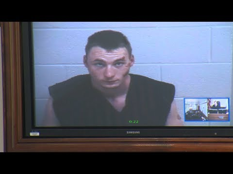 Raw Video: Corvallis Man Arraigned in Knife Attack
