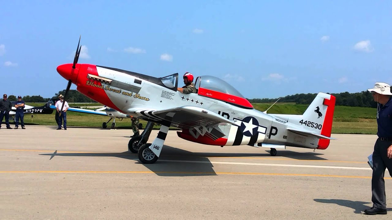 3 4 Scale P51 Youtube