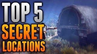 GTA 5 Online - Top 5 SECRET LOCATIONS on GTA 5 Online (GTA 5 Hiding Spots)