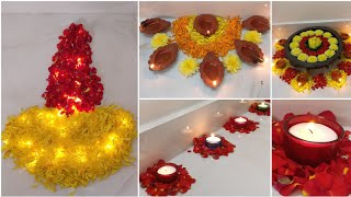 4 Easy Diwali Decoration Ideas At Home | Diwali Home Decor  | DIY | Home Decor | Diwali Decoration