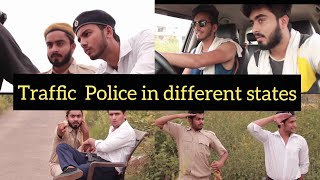 TRAFFIC POLICE IN DIFFERENT STATES - |Elvish Yadav|