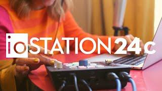 PreSonus—The ioStation 24c. Audio Production   Desktop Control
