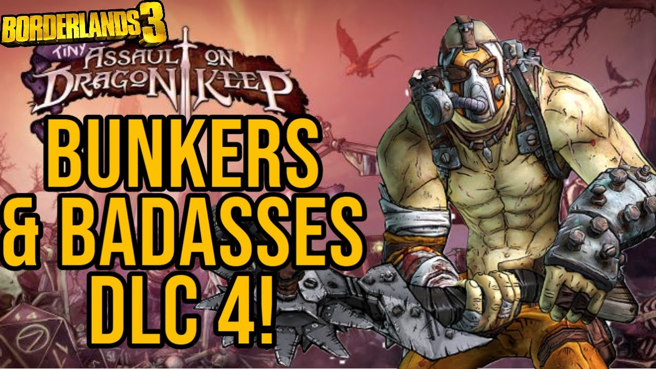 BUNKERS & BADASSES COMING TO BORDERLANDS 3 (Speculation)! DLC 4 Teaser! // Borderlands 3 Krieg DLC thumbnail