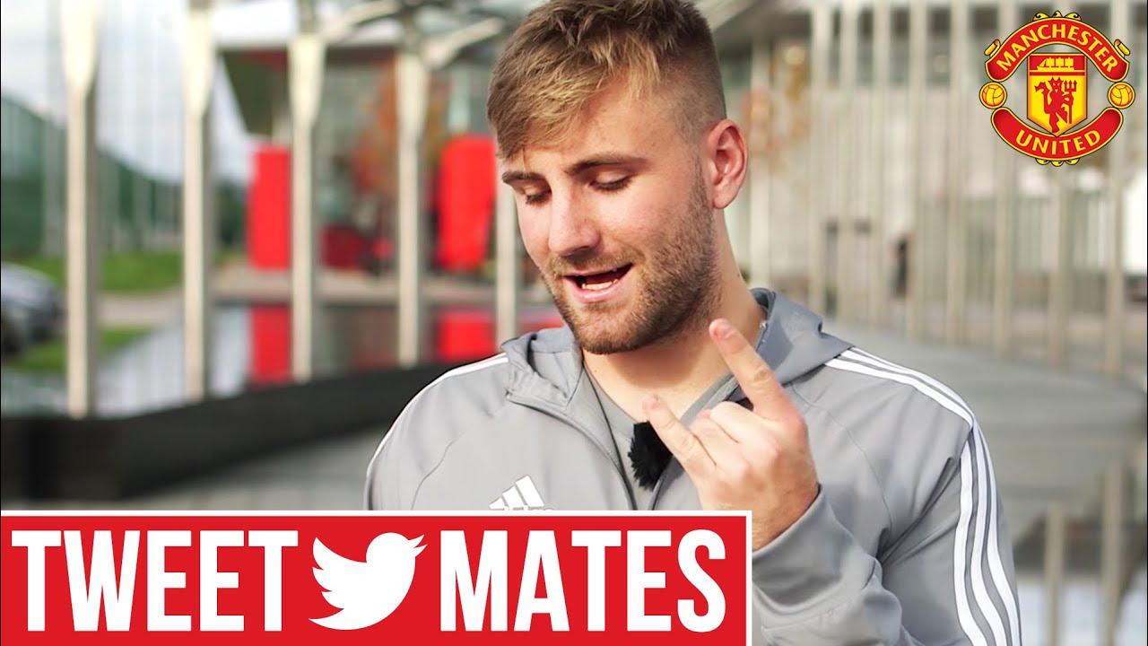 Luke Shaw | Tweet Mates | Manchester United