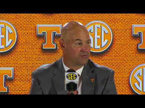 Tennessee head coach Jeremy Pruitt makes first appearance at SEC Media Days