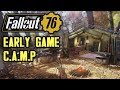 Fallout 76 Guide - Early/Mid Game C.A.M.P Set-Up