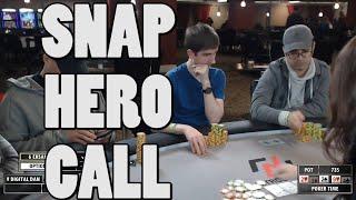 Poker Time: HERO CALL on Poker Time with Matt Vaughan