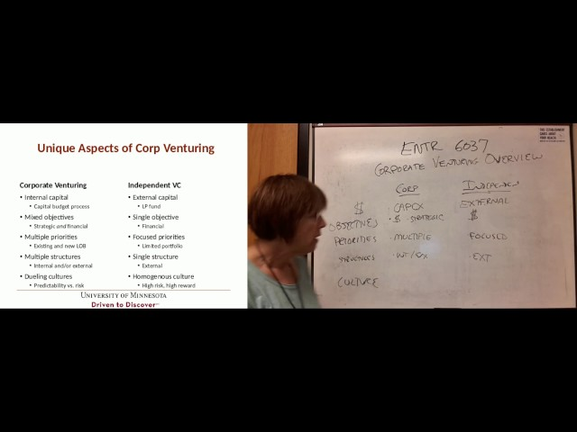 ENTR 6037 Lecture 2 Corporate Venturing Overview