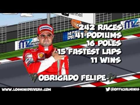 MiniDrivers - F1 - Farewell Felipe Massa