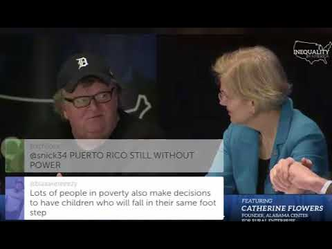 Michael Moore, Sanders Mock Media For Nonstop Coverage of Russia, Stormy Daniels