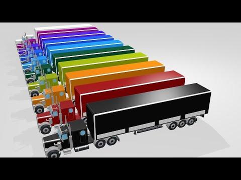 машинки мультик, учим цифры и цвета для детей