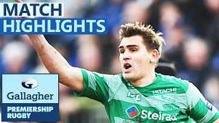 Bath 30-13 Newcastle   Bath Prove Too Strong For Falcons   Gallagher Premiership - Highlights