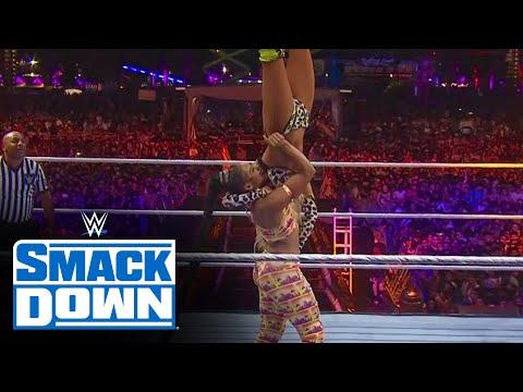 Bianca Belair vs. Carmella - SmackDown Women's Title Match: SmackDown, July 23, 2021
