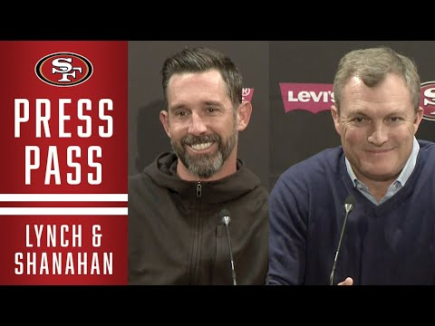 Lynch and Shanahan Recap 49ers Pre-Draft Trade and Free Agency Moves