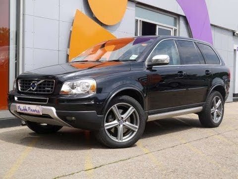 2010 volvo xc90 r design d5 awd black for sale in hampshire youtube. Black Bedroom Furniture Sets. Home Design Ideas