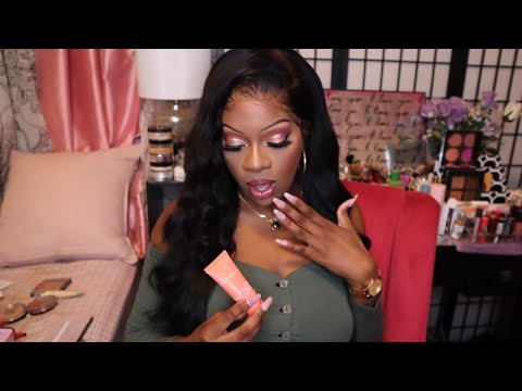 Juvia's Place Foundation - Lagos 240 - Review/ Demo on Dark Skin - WOC thumbnail