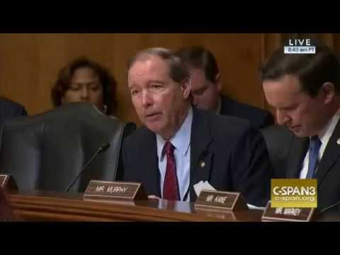 Tom Udall and Nikki Haley on Paris Climate Agreement 1/18/17