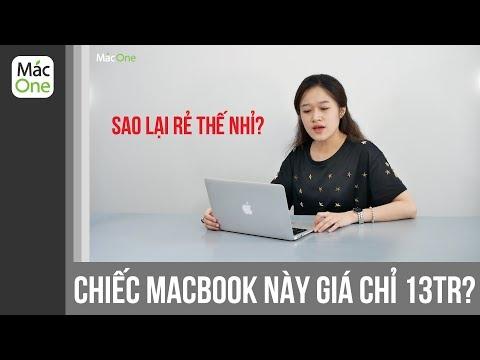 Chỉ Với 13tr Các Bạn đã Mua được Một Chiếc Macbook Cực đẹp - Trên Tay Macbook Air 11 Inch