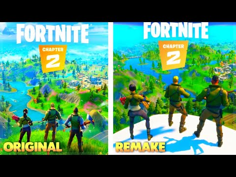 We Recreated The Fortnite Chapter 2 Trailer
