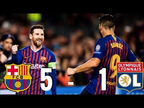 Barcelona vs Lyon [5-1] - Champions League, Round of 16, 2nd Leg - MATCH REVIEW