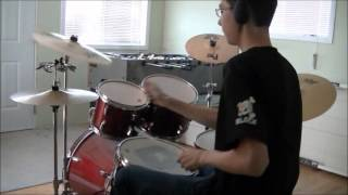 Cosmic Monster Inc Drum Cover