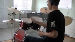 Cosmic Monster Inc Drum Cover