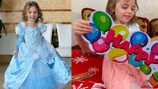 ПРИНЦЕССА Золушка на утреннике Платье принцессы Диснея ДЕНЬ РОЖДЕНИЯ Саши CINDERELLA Disney Princess