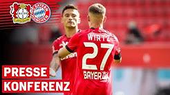 FCB zu stark nach vorne, Wirtz mit Tor-Premiere | Bayer 04 – Bayern München 2:4 | PK nach dem Spiel
