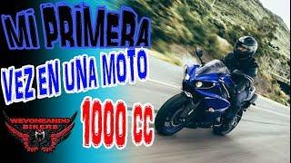 WBikers MI 1ra VEZ EN UNA MOTO 1000 CC