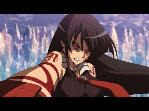 akame ga kill episode 24 esdeath vs akame final fight