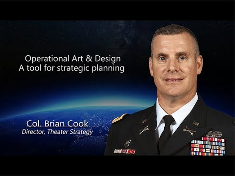 Operational Art & Design: A Tool For Strategic Planning