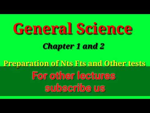 NTS FTS test preparation || general science top MCQ's - YouTube