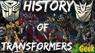 История Трансформеров   Transformers